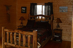 Elk Cabin Bedroom
