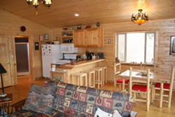 Elk Cabin Kitchen Dining