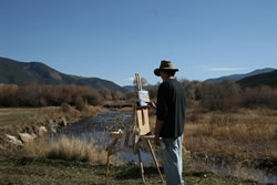 Rio Costilla Valley Artist Randy Pijoan