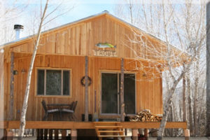 Trout Cabin New Mexico Fly Fishing Rio Costillo